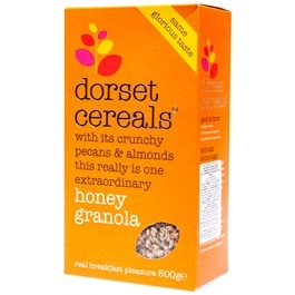 Dorset Honey Granola cereálie 500g