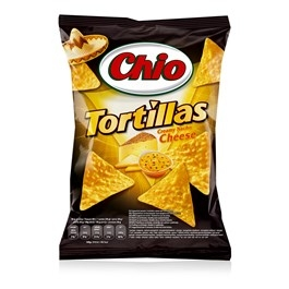 Chio Tortillas Chips Cheese 125g