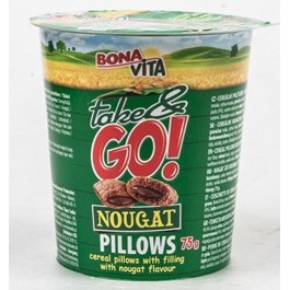 Bonavita Take&Go Cereálie nougat pillows 75g