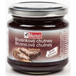 Valenzi Brusinkové chutney barbeque 220g