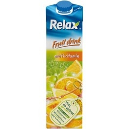 Relax Fruit Drink džus multivitamin 1L