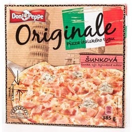 Don Peppe Pizza šunková mraž. 370g