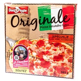 Don Peppe Pizza Speciale mraž. 365g