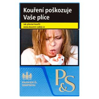 Cigarety P&S Blue king size 20ks tvrdé bal.
