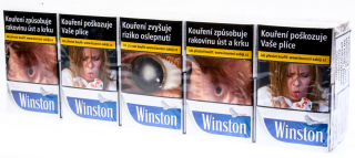 Cigarety Winston Balanced Blue king size 20ks tvrdé bal.
