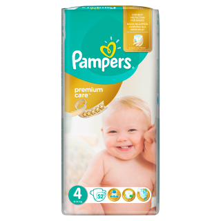 Pampers Premium Value Pack Maxi S4 pleny 52ks