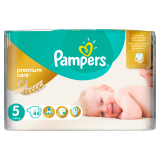 Pampers Premium Value Pack Junior S5 pleny 44ks