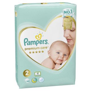 Pampers Premium Value New baby S2 pleny 68ks