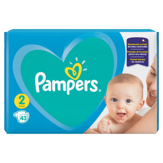 Pampers New Baby Carrypack S2 plenky 43ks