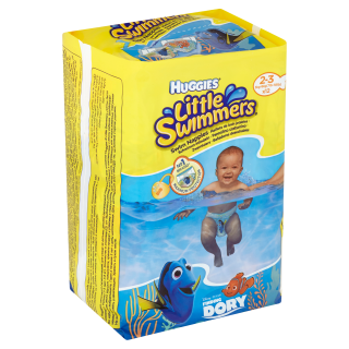 Huggies Little Swimmers Plenky na plavání 2-3 12ks