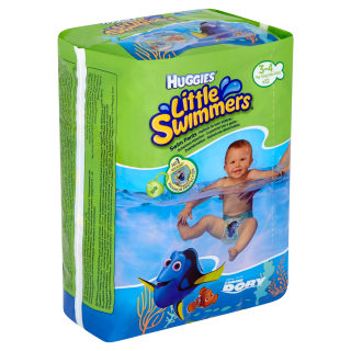 Huggies Little Swimmers Plenky na plavání 3-4 12ks