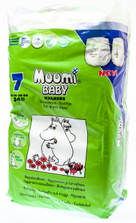 Muumi Baby Walkers Extra Large S7 plenky 34ks