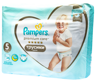 Pampers Premium Pants Value Pack Junior S5 plenkové kalhotky 48ks