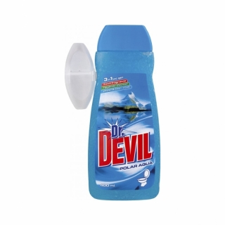 Dr. Devil Polar Aqua Wc gel 400 ml + koš