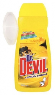 Dr. Devil Lemon Wc gel 400 ml + koš