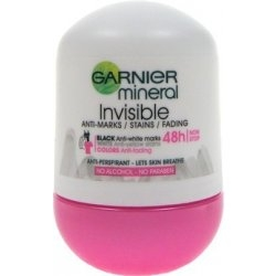 Garnier Mineral Invisible Black & White 48h kuličkový antiperspirant 50 ml