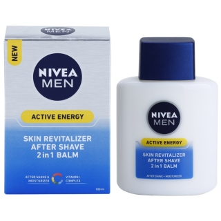Nivea Men Active Energy revitalizační balzám po holení 2 v 1 100 ml