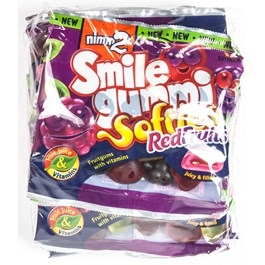 Nimm2 Smilegummi Softies red fruit 90g
